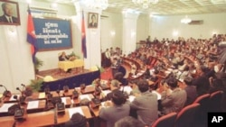Cambodian national assembly.