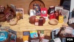 Books display at Book Fair