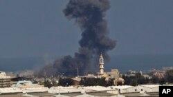 Un misil ha sido lanzado sobre la casa de un alto mando de Hamas en Gaza.