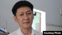 Ký giả Trương Minh Ðức từng bị 5 năm tù về tội danh 'lợi dụng các quyền tự do, dân chủ xâm phạm lợi ích của nhà nước'.