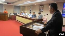 台湾立法院内政委员会6月30号质询的情形