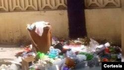 Sistema de coleta ineficiente no bairro Zona Comercial