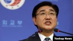 노광일 한국 외교부 대변인 (자료사진)