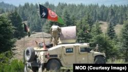 افغان پوځیان د پوځي تطبیقاتو پرمهال