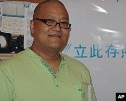 杨伟东在新书发布会上