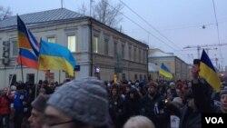 Москвичі вшановують пам'ять Бориса Нємцова
