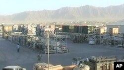 نمای از پایگاه نظامی بگرام در کابل