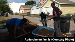 Zacharia Yusuf Abdurahman làm công việc thiện nguyện ở phía bắc Minneapolis khi còn là một thiếu niên.