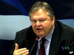 Ο υπουργός Οικονομικών Ευάγγελος Βενιζέλος