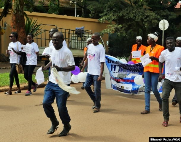 "Image result for Walk a mile in her shoes"" uganda"