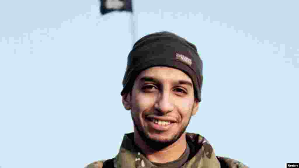 Une photographie non datée d'Abdelhamid Abaaoud tué le 18 novembre 2015 lors de l'assaut des forces de sécurité françaises à Paris
