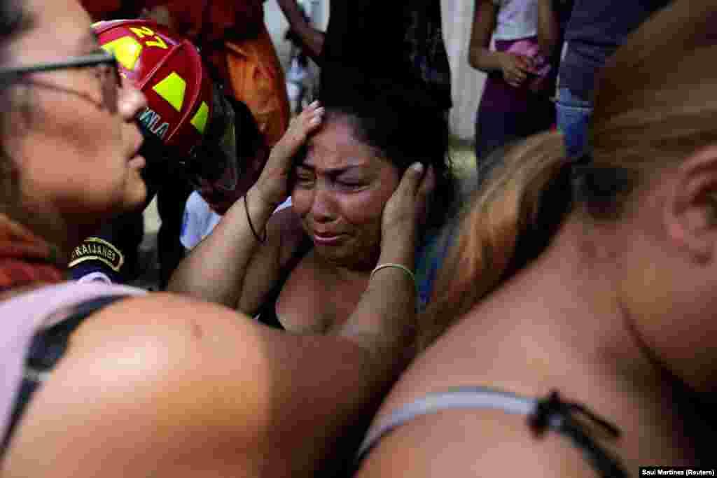 مقامی اطلاعات کے مطابق اس ادارے میں گنجائش سے کہیں زیادہ تعداد میں لوگ رہ رہے تھے۔
