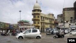 کراچی بارشیں