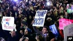 Protestas en Massachusetts
