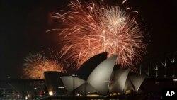 La llegada de 2015 se celebra a lo grande.