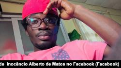 Inocêncio Alberto de Matos, manifestante assassinado em Luanda, Angola, 11 novembro 2020