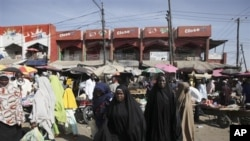 Market in Maiduguri, Nigeria (file photo)