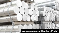 越南一國際鋁業工廠的產品。