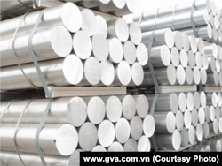 Vietnam Global Aluminum Co. products (www.gva.com.vn)