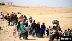 آوارگان فرار از جنگ موصل