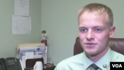 Brandon Paulin, walikota termuda yang baru berusia 19 tahun saat terpilih tahun lalu (foto: dok).
