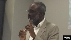 Former Industry Minister Nkosana Moyo.