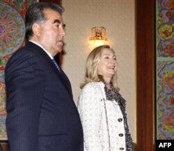 Prezident Imomali Rahmon bilan, Dushanbe, 22-oktabr 2011