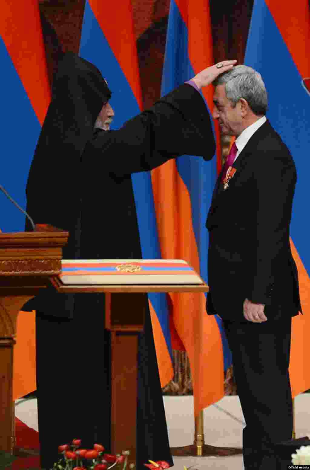 Սերժ Սարգսյանի երդմնակալության օրը, Երևան, 2013թ. ապրիլի 9