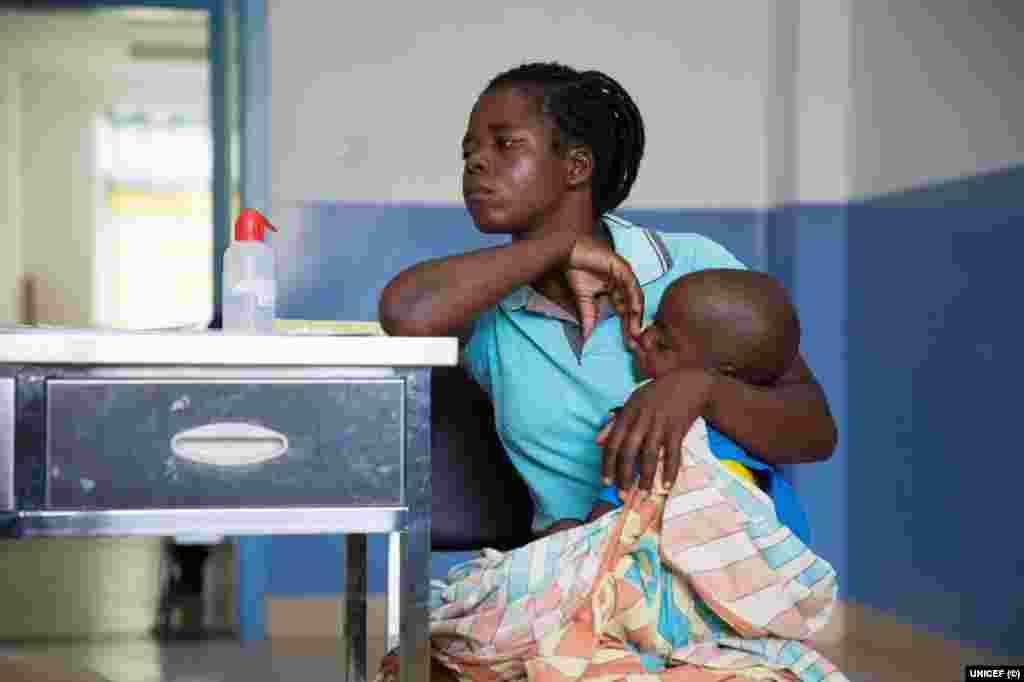 Mães de Moçambique vítimas do Idai: Luísa Pedro Luís, 24 anos, do Buzi