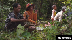 "A picture screenshot from the documentary video ""Our Tribe-Our Heritage."""