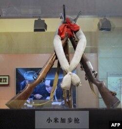 """纪念馆里的""""小米加步枪"""""""