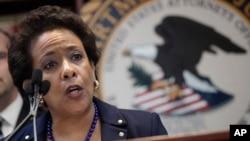 ABD Adalet Bakanı Loretta Lynch