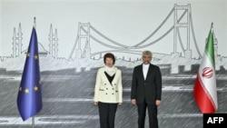 Visoka predstavnica EU Ketrin Ešton i iranski pregovorač za nuklearna pitanja Said Džalili
