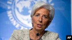 國際貨幣基金組織執行總裁拉加德。