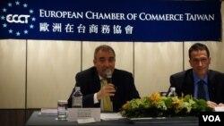 Olivier Rousselet, Vice Chairman, ECCT & Freddie Hoeglund, CEP, ECCT