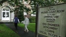 نمایی از دادگاه نظامی در ایالت واشنگتن