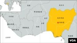 尼日利亚地理位置