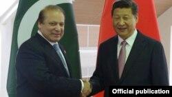 Thủ tướng Nawaz Sharif và Chủ tịch Tập Cận Bình. Với sự giúp đỡ của TQ, Pakistan hy vọng hưởng lợi từ thỏa thuận hạt nhân Iran.
