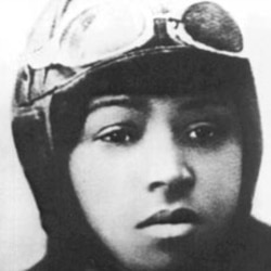 "Bessie Coleman, known as ""Queen Bess,"" had to go to France to learn how to fly, but got her license two years before Amelia Earhart."