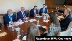 Tashqi ishlar vaziri Abdulaziz Komilov boshchiligidagi delegatsiya bu hafta Vashingtonda