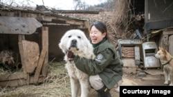 國際人道協會韓國辦事處《終結狗肉交易運動》經理金娜拉(Nara Kim)(照片提供:金娜拉)