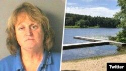 نانسی بوچیارلی سگ پیر و ناتوان اش را داخل دریاچه هل داد و منتظر ماند تا غرق شود.