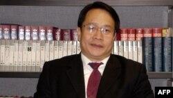 Ông Mạc Thiếu Bình, luật sư của ông Lưu Hiểu Ba