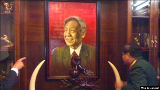 Nhà của nguyên tổng bí thư đảng cộng sản Việt Nam Lê Khả Phiêu.