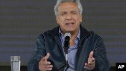 El presidente de Ecuador, Lenin Moreno, dice que su país se liberó de una piedra en el zapato en rerencia a Julian Assange.