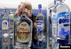 Vodka is a type of spirit. Russia is known around the world for their high-quality vodka. (REUTERS)