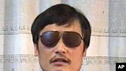 山東盲人維權人士陳光誠(資料圖片)