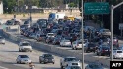 Автотрасса в Калифорнии