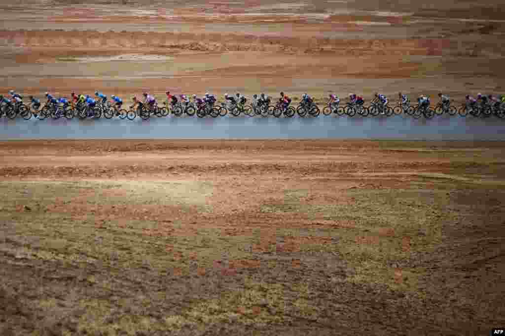 رقابت بایسکل رانی در عربستان سعودی