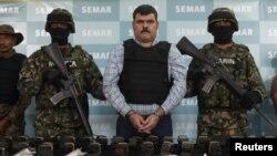 Trùm buôn ma túy khét tiếng Jorge Eduardo 'El Coss' Costilla Sanchez đã bị bắt